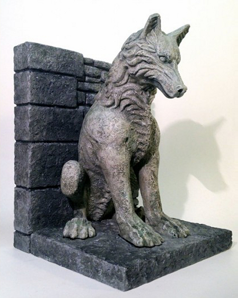 Game Of Thrones Direwolf Bookends Figurky A So Ky