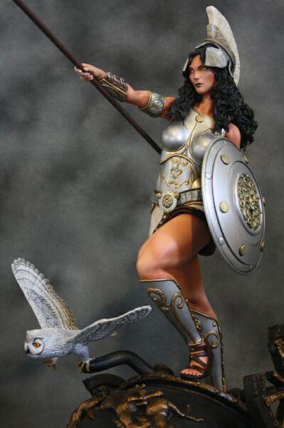 Athena Greek Goddess of Wisdom and War  studio Athena Goddess Of War And Wisdom