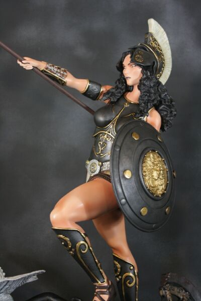greek goddess of wisdom and war