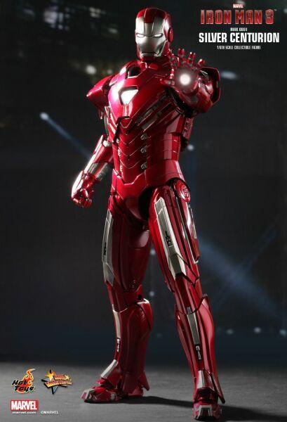 Iron Man 3: Iron Man MARK 33 Silver Centurion