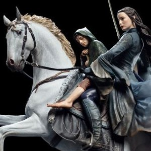 Arwen And Frodo On Asfaloth