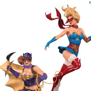 Batgirl And Supergirl Celebration