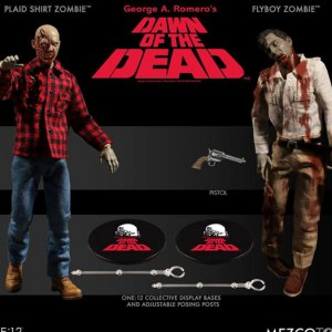 Flyboy And Plaid Shirt Zombie 2-PACK