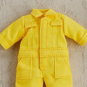 Outfit Set Decorative Parts For Nendoroid Dolls Colorful Coveralls Yellow