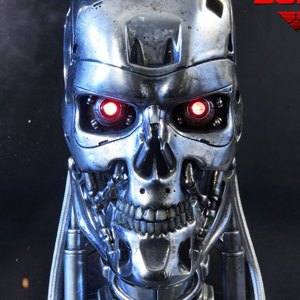 T-800 Endoskeleton Head