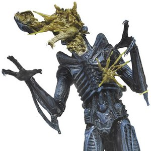 Xenomorph Warrior Blue Battle Damaged